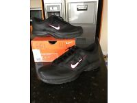 Women's Nike Leather Trainers size 7.