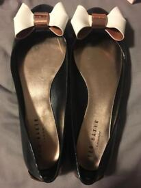 Ted baker twinkle toes shoes 2 pairs size 6 and 7