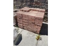 RED PAVING BLOCKS *USED* COLLECTION ONLY
