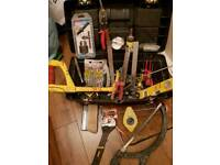 Drill, Sander, Toolbox & Tools