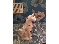 brannam barnstaple cat pottery figure 20 century 1920-1940