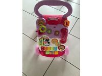 Girls baby walker immaculate