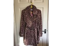 ladies 3/4 length Mac, size 10