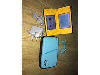 Nintendo DSi XL Handheld console, Yellow, excellent condition.