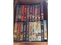 DISNEY CLASSICS (and others) VHS tapes: Job Lot