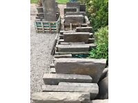 Reclaimed York stone - 42 square metres