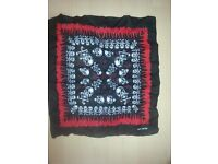 Brand New Skull Cotton Scarf