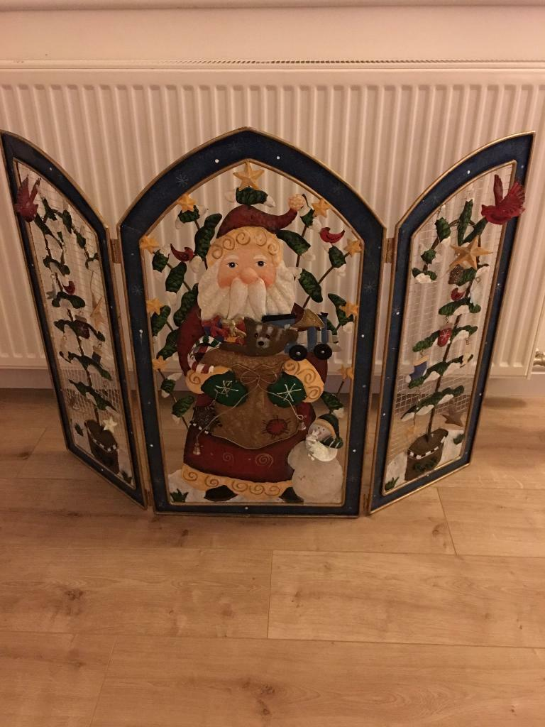 Fire Guardin Cupar, FifeGumtree - Festive fire guard, made from various metals.Only reason for selling is we dont have an old style open fire