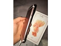 Rose gold iPhone 6s 64gb damaged but working