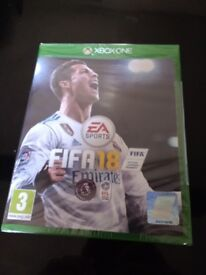 Fifa 18 - Xbox One - Brand New in Sealed Box