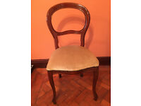 French Louis Style Champagne Colour Chair