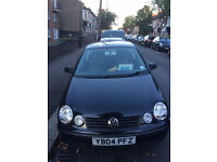 2004 Volkswagen Polo 1.2 Twist (Black, 3dr). Recently serviced, full year MOT