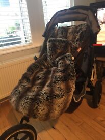 Phil and Teds Dash Double Buggy - Good Condition