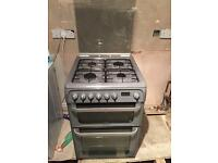 Hotpoint Ultima HUD61 Dual Fuel Cooker