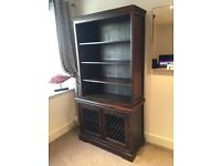 Laura Ashley Garret Chestnut Bookcase with Matching TV cabinet, Coffee table and mirror