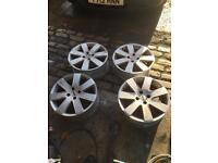 Ford alloys 17 inch 4 studs