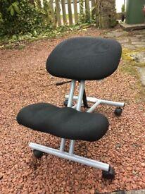 Adjustable back support seat