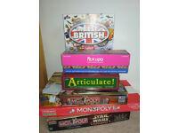 Family Board Games. Great fun.