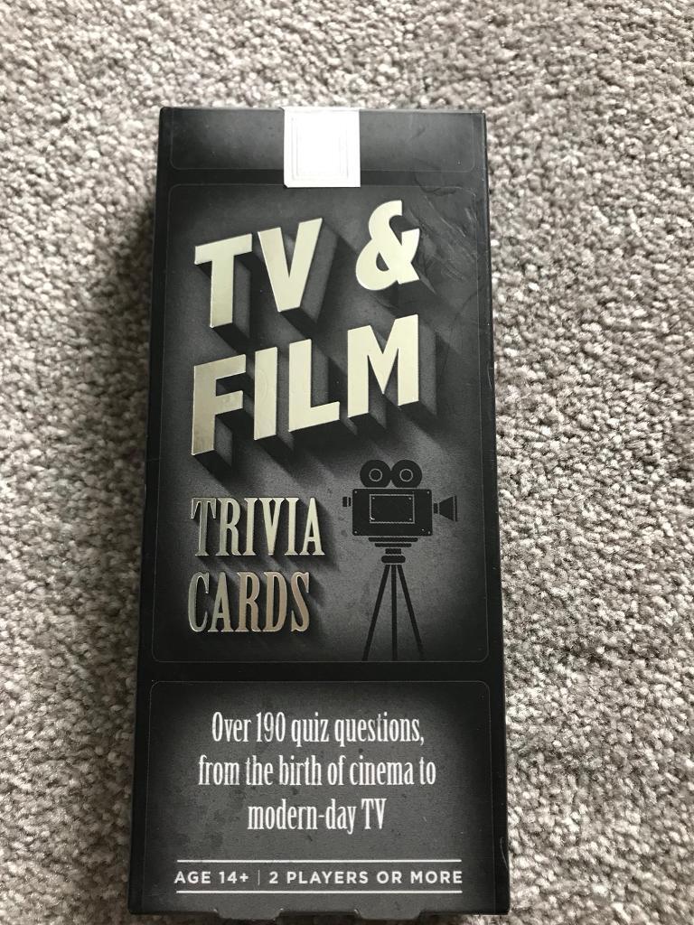 Tv and Film Trivia Quiz | in Mansfield, Nottinghamshire | Gumtree