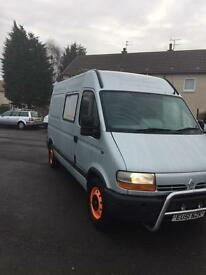 RENAULT MASTER 3.5T MEDIUM WHEEL BASE HIGH ROOF LOTS OF EXTRAS