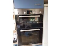 Bosch double electric oven HBM43B150B 3 years old