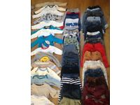Bundle of boys 0-9 months over 150 items