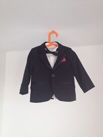 boys 4 piece suit 1,5-2 yrs from M&S
