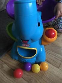 Selection on baby toys