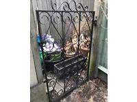 Metal Victorian gate