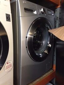 LG 9KG SPIN WASHING MACHINE SILVER RECONDITIONED