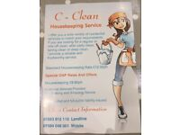 C-Clean Housekeeping Services