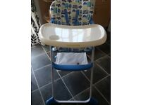 Mothercare high chair ***good condition***