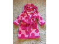 Girls dressing gown 3-4 yrs