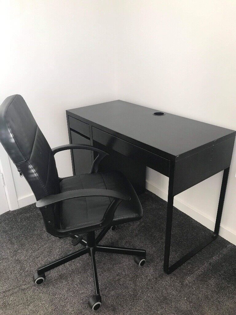 Image of: Desk And Chair Set From Ikea Great Condition Only Used Two Or Three Times 60 In Wallsend Tyne And Wear Gumtree