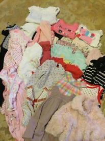 Baby girls bundle 3-6 months