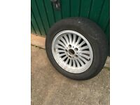 BMW E39 Alloys with tyres