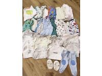 Newborn boys clothing bundle for sale in Widley