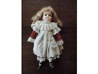 Vintage Alberon Porcelain Doll