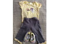 Baby girl clothes 6-9 m