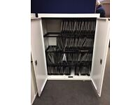 Lateral Filing Cabinets, In White. 1400mm Height x 1000mm Width x 500mm Depth. 4 In Stock.