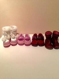 Girls toddler shoes size 5F