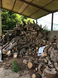SEASONED Hardwood Firewood/Logs for Sale All Year Round From £75