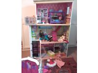 ELC wooden dolls house Barbie Mansion