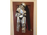 Star Wars - Captain Phasma Costume for Kids (sizes 6/7 & 7/8) Brand New with Tags from Disney Store