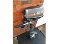 Mariner 4hp 2-stroke short shaft outboard