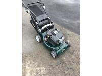 Hayter lawnmower self drive