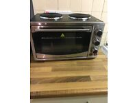 Mini oven with hobs