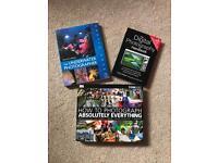 3 photography books