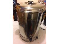 Water boiler, Buffalo, manual fill