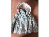 Girls coat 2-3yrs